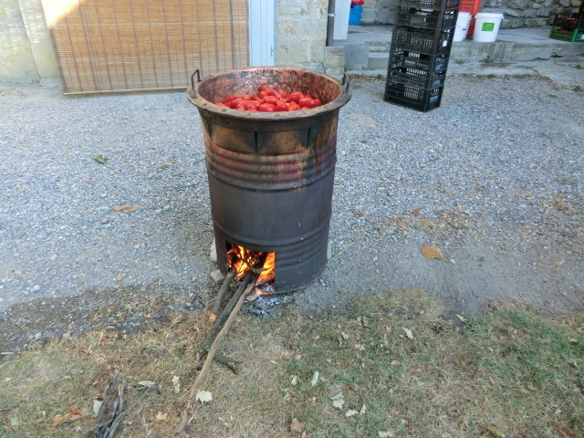 La passata di pomodoro alla vecchia maniera