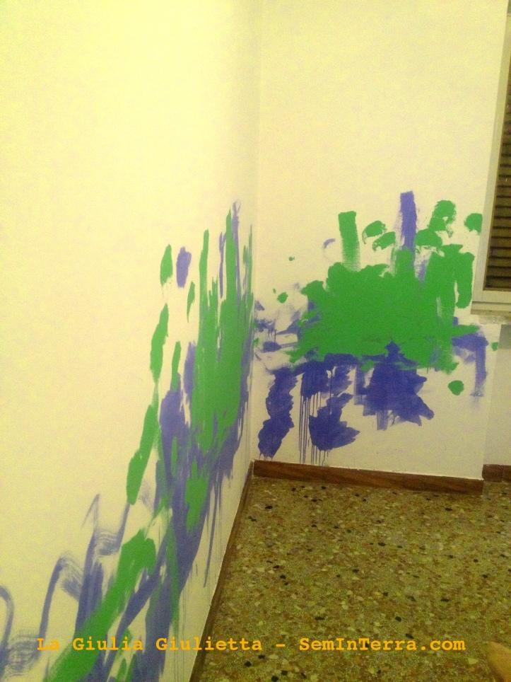 Pittura murale 'picassiana' ;-)