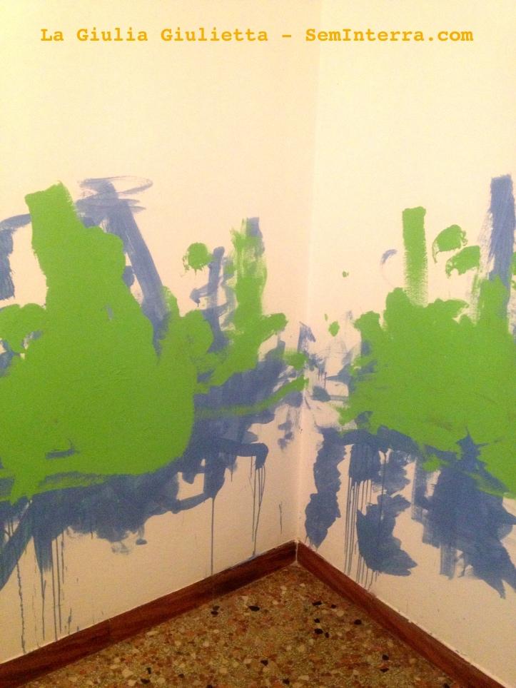 Pittura murale daliniana!