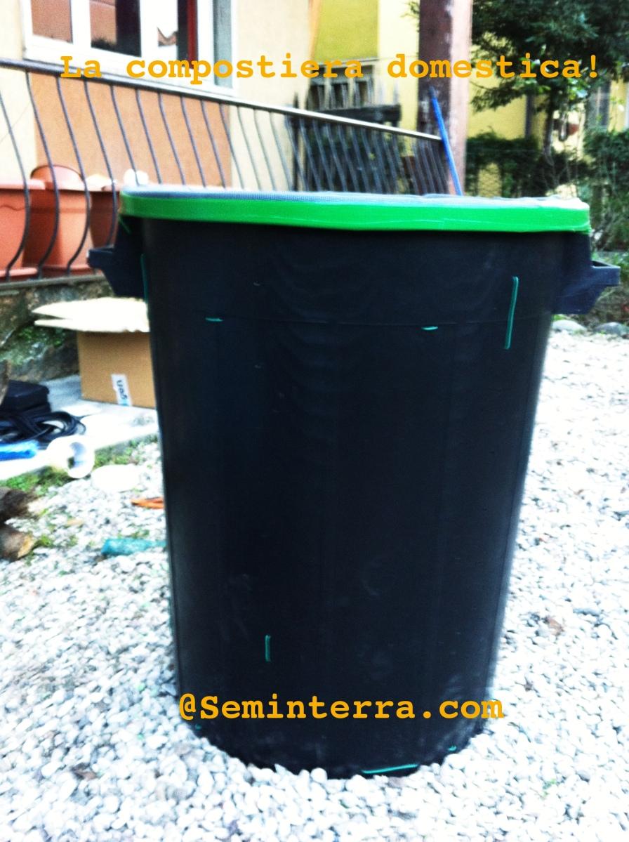 Compostiera domestica fai da te