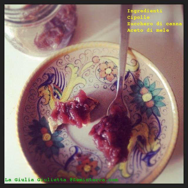 marmellata di cipolle, cipolle rosse