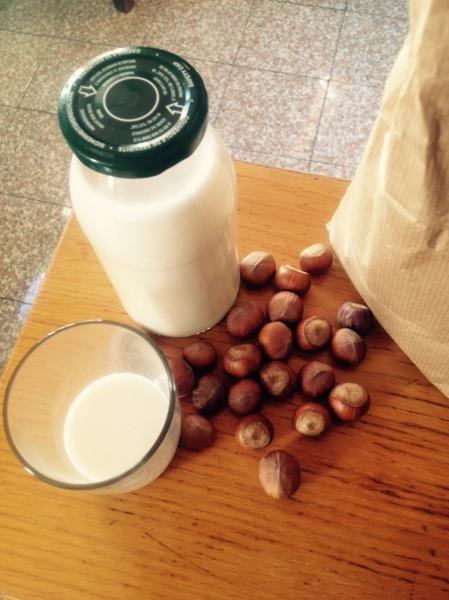 latte di nocciole, chufamix, latte vegetale