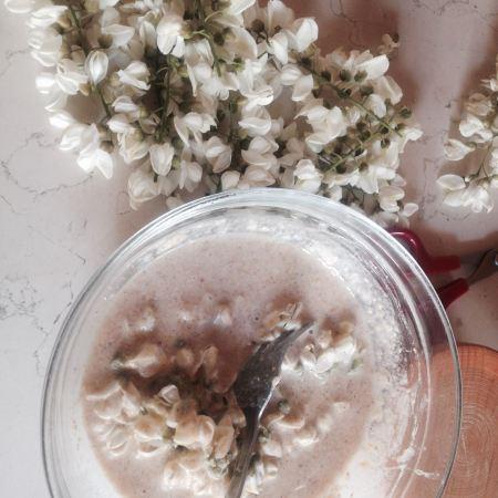 robinia pseudo acacia, frittelle di acacia