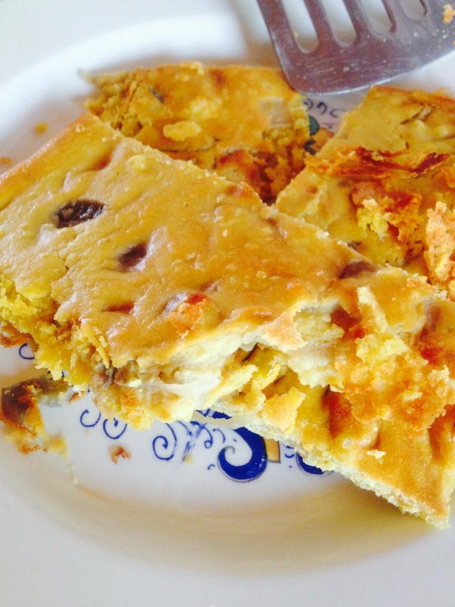 Cecina o frittata vegan senza uova per grandi e piccini