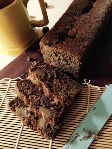 plumcake dolce, plumcake senza glutine, dolci senza glutine, plumcake pere e cioccolato