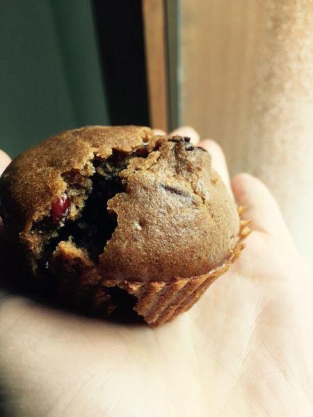 muffin vegani - muffin con cioccolato - zucchero di cocco