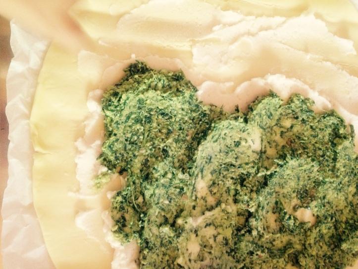 aglio orsino, crema di tofu aglio orsino